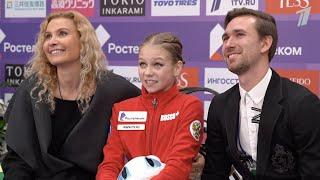 Золото Трусовой, серебро Медведевой и еще шесть медалей России на Rostelecom Cup 2019