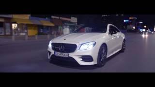 Mercedes E400 Coupe | Night Glide (4K)