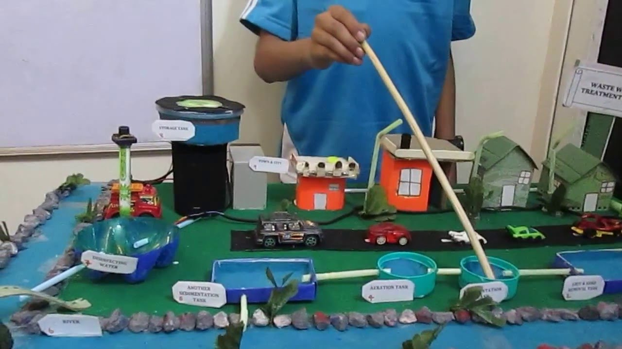 Science Project Wastewater Treatment By Prem For School