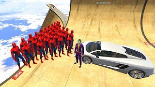 GTA 5 Crazy Ragdolls Joker Vs Spiderman Compilation vol.4 (GTA 5 Euphoria Physics Fails Funny) BMW