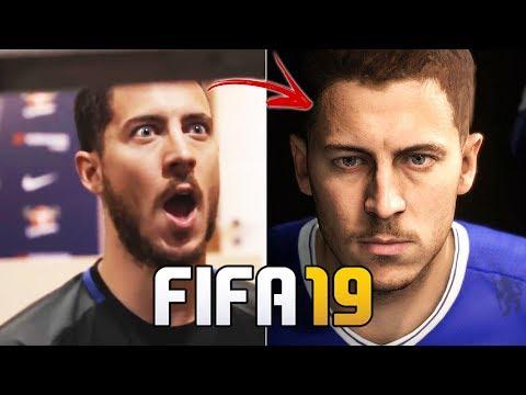 Veja como são feitas as FACES do FIFA 19! | Bastidores do FIFA 19