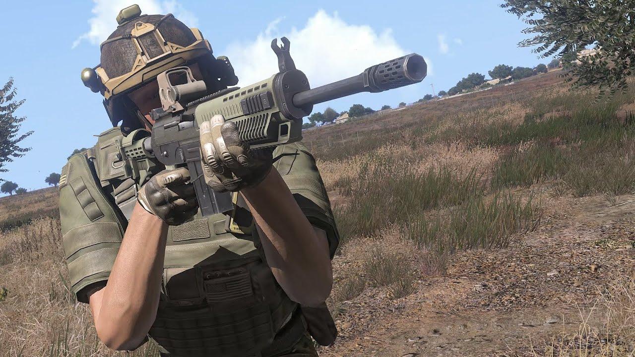 Arma 3 Marksmen Dlc Trailer Youtube