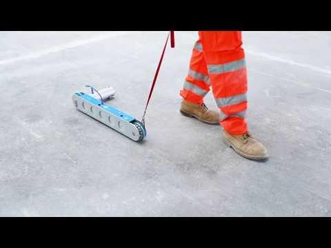 CoGri Engineering - F Speed Reader (FSR) - Floor Profiler/ Flatness Testing Equipment
