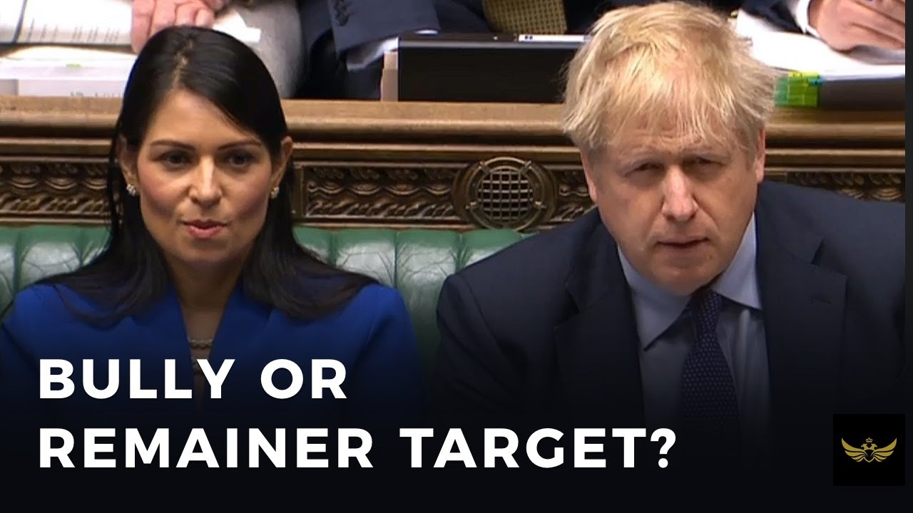 Priti Patel: Home Secretary Bully or Brexit Remainer Target?