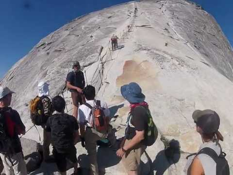Know What to Expect - Half Dome Cable Climb at Yosemite - Head-Mount Video