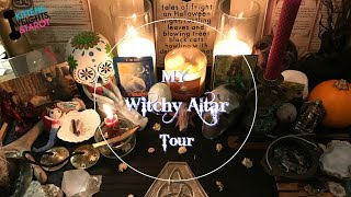 My Witchy Altar Tour