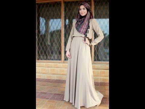 Koleksi Model Baju Muslim Wanita Terbaru 2018 - YouTube 81231a03d2