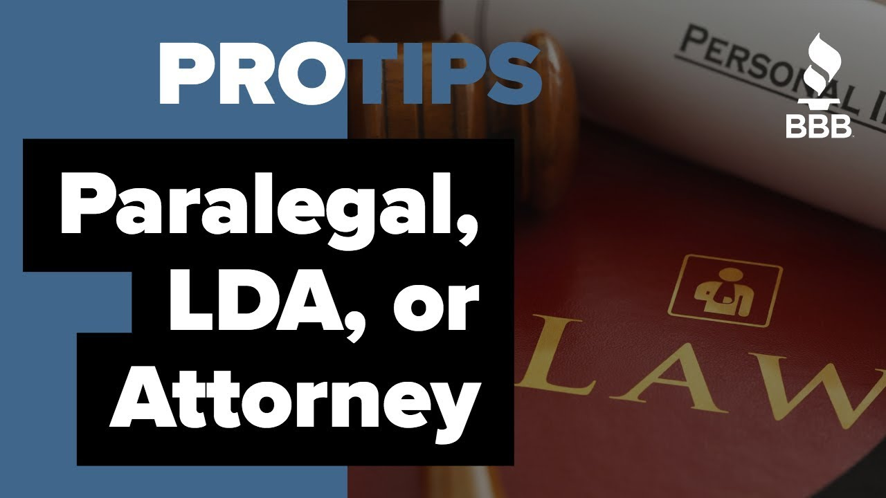What Is The Difference Between A Paralegal A Legal Document - Legal document assistant