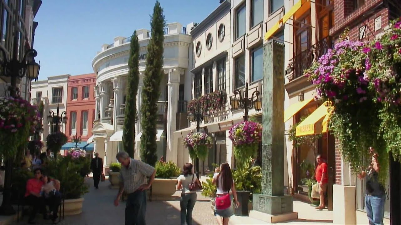 Luxurious Rodeo Drive In Beverly Hills California Youtube