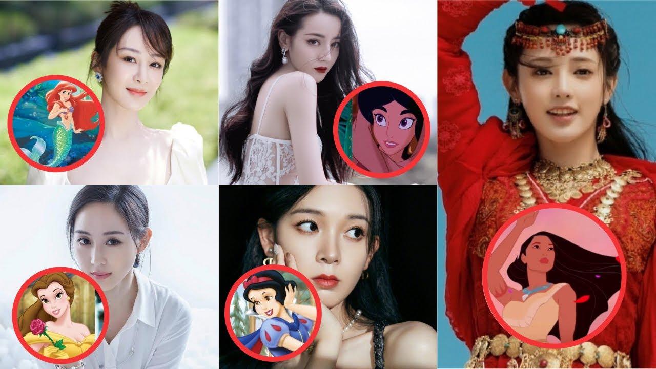 Những mỹ nhân Hoa ngữ được đề cử sắm vai công chúa Disney trên màn ảnh