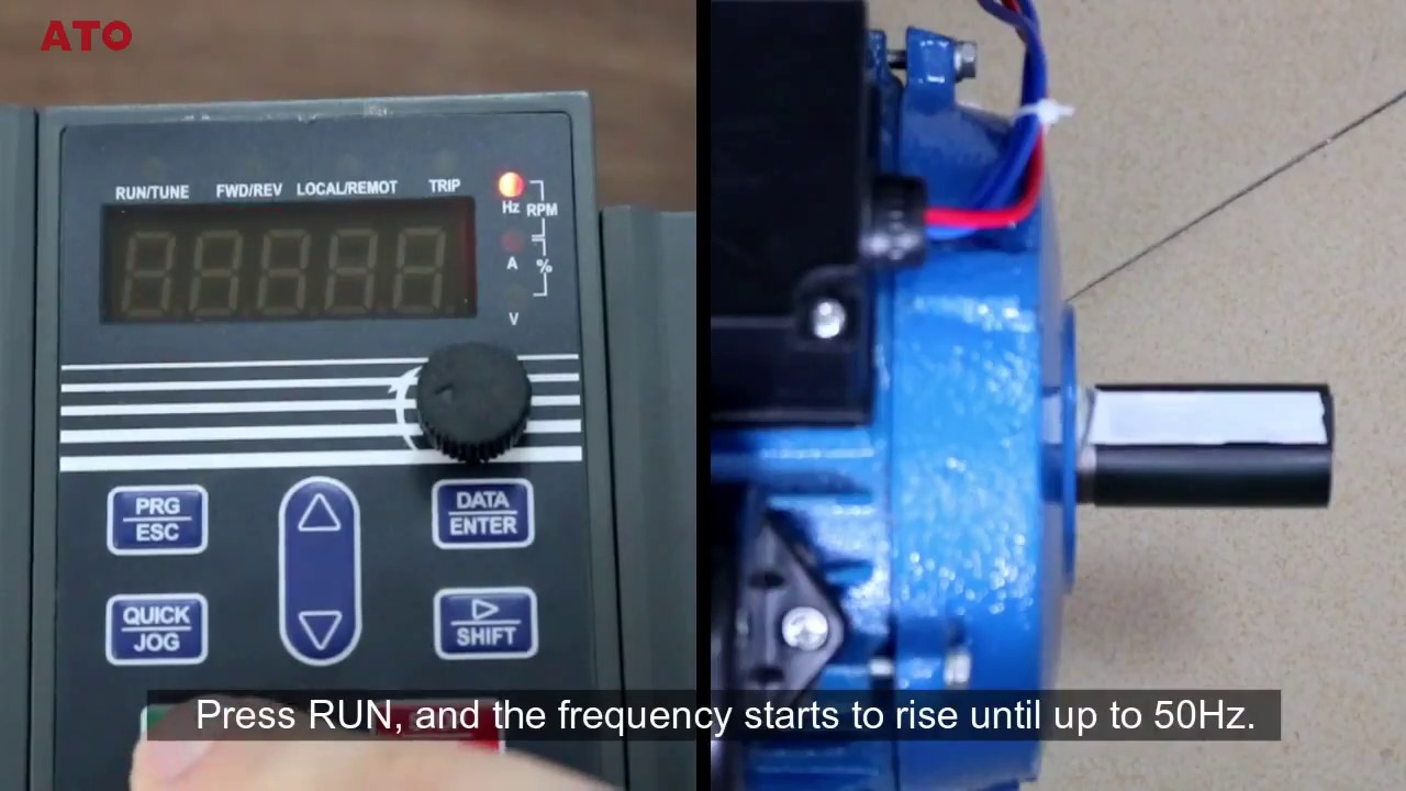 using variable frequency drive vfd for single phase motor youtube wiring single phase motor to vfd [ 1280 x 720 Pixel ]