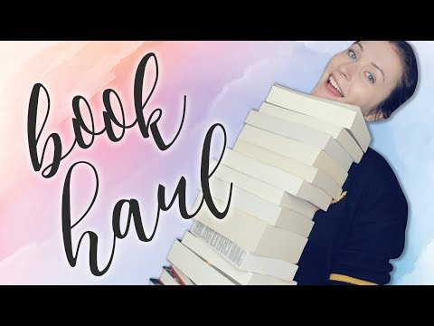 BOOK HAUL & UNBOXING | April 2018