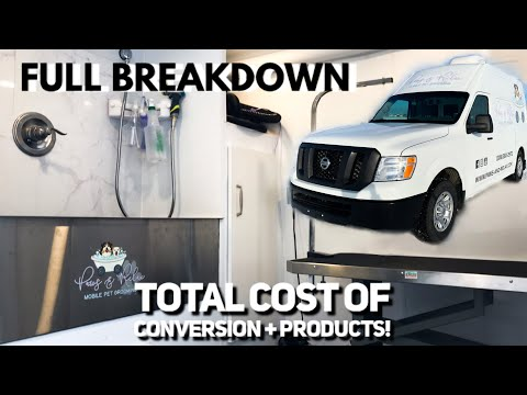 Mobile Pet Grooming Van Conversion: Cost And Supplies!