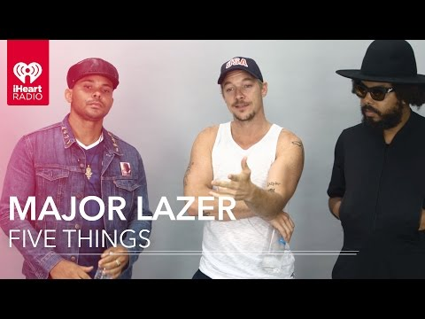 Major Lazer Interview - Five Things