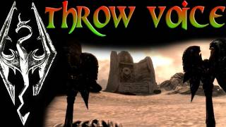 Skyrim: Dragon Shouts - Throw Voice