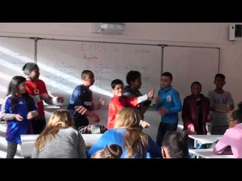 Flashmob Euro 2016 - Collège Jean Jaurès de Saint Ouen
