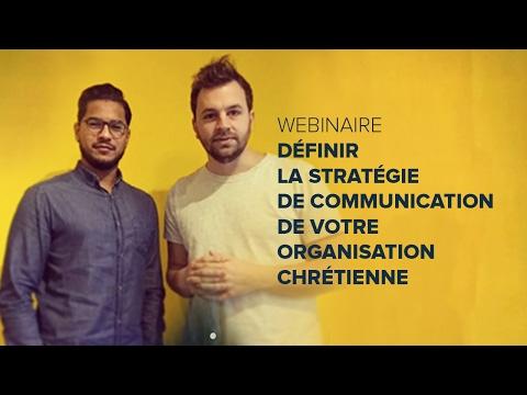 Webinaire : définir la stratégie de communication