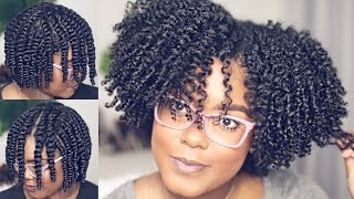 How To | Flat Twist-Out On Natural Hair