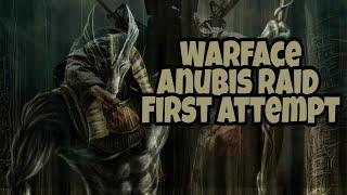 Warface PS4 - Anubis Raid Attempt
