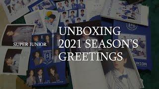 [UNBOXING] 2021 Season's Greetings - SUPER JUNIOR