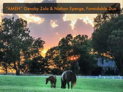 """AMEN"" Genoby Zola & Nathan Epenge, Formidable Duo"