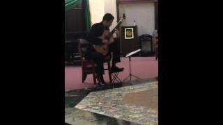 Paul Ruiz - Mallorca (guitar) from I. Albeniz