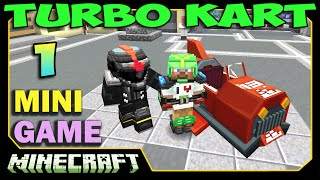 ч.01 Minecraft Turbo Kart - Самые крутые ГОНКИ!!!