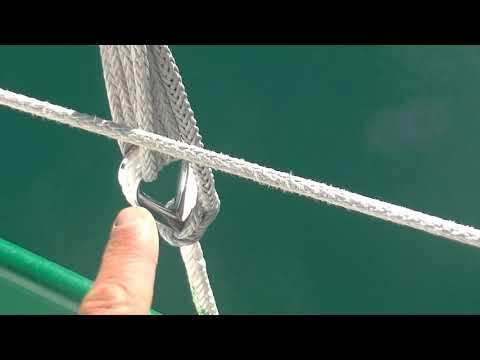Sailing Dyneema Rigging