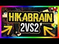 [FUCRAFT]HIKABRAIN 2V2 PVP #1[MINECRAFT]