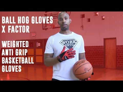 Ball Hog (Weighted) Gloves X-FACTOR - Anti Grip Gloves | Coach Godwin Ep:190