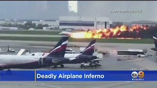 Russia Opens Criminal Investigation Into Deadly Airplane Inferno