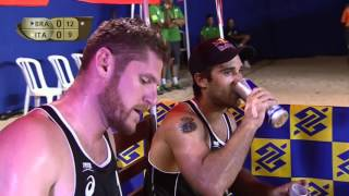 Alison/Bruno Schmidt vs Ranghieri/Carambula (Semifinals) VITORIA OPEN 2016