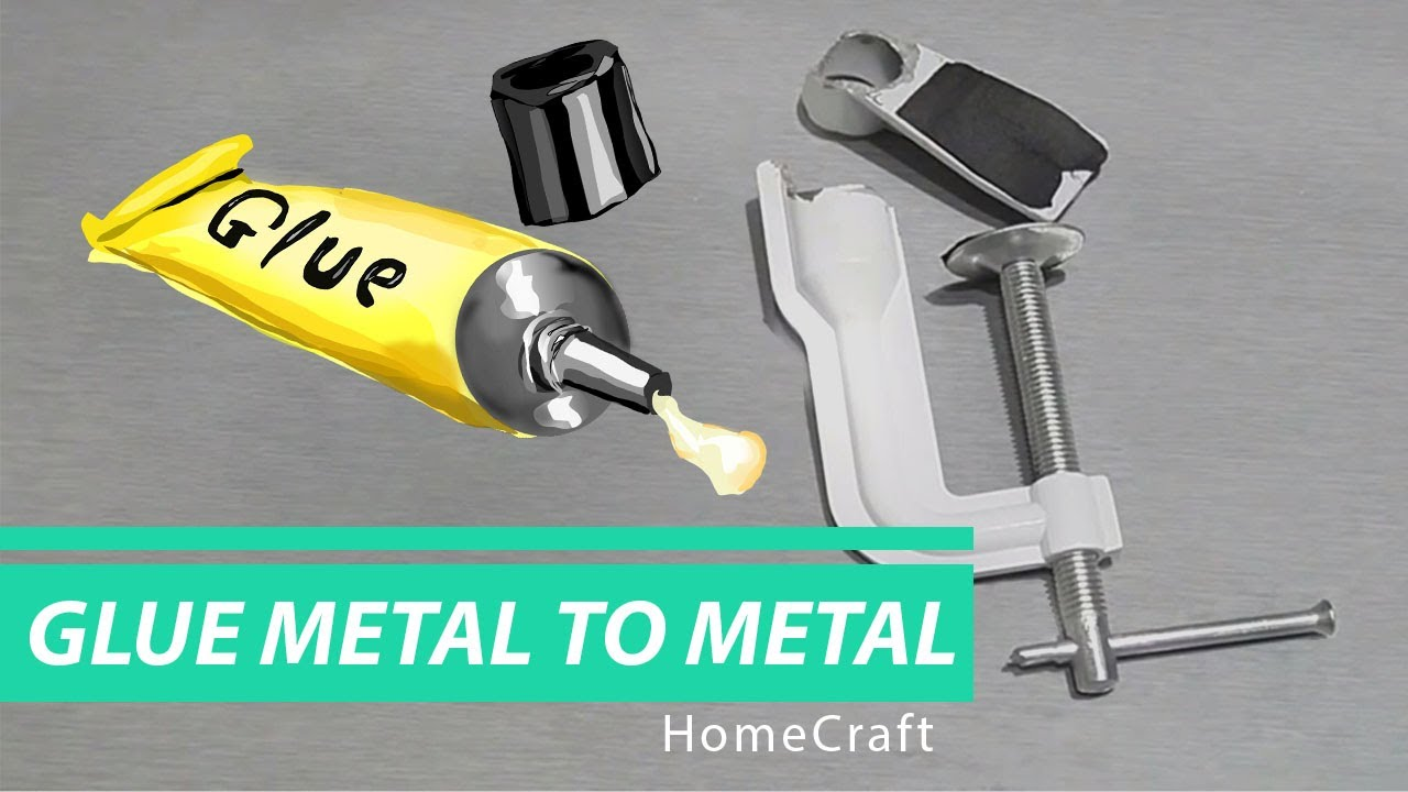 How to glue metal to metal 36