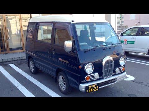 Subaru Sambar Kei Car In Japan