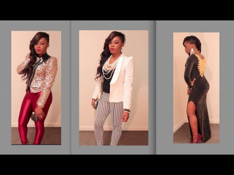 Lookbook: New Year's Eve Party Outfit Ideas - YouTube
