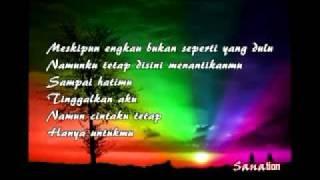 Awi Rafael- Bukankah Aku (OST Pelangi Kasih) with lyrics