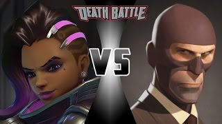 Sombra VS Spy Death Battle! Fan Made Trailer