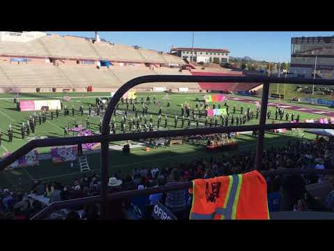 Hannah's Band Competition- Onate High School Las Cruces Fall 2018