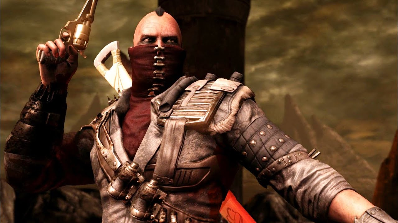 mortal kombat x erron black bounty hunter costume ladder