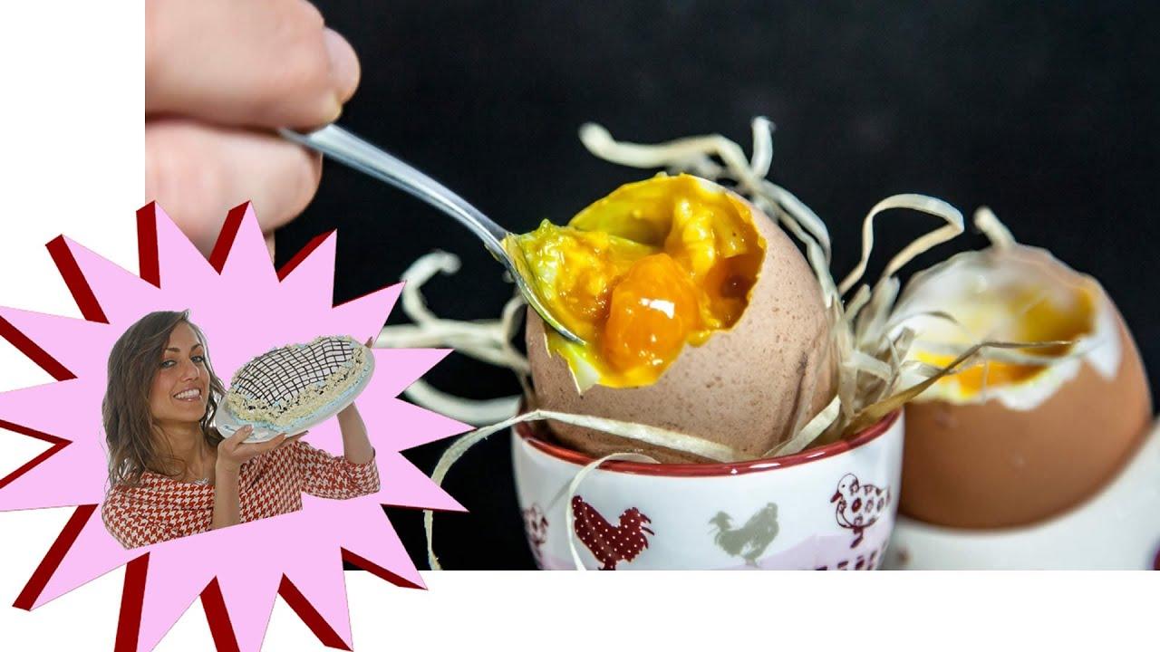 Uovo alla Coque in Lavastoviglie  Cucina Molecolare  YouTube