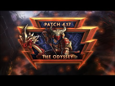SMITE Patch Notes VOD - The Odyssey (Patch 4.17)
