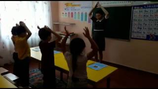 """фрагмент урока из курса  """"Обучение чтению за 15 уроков"""" в Таланте, Астана"""
