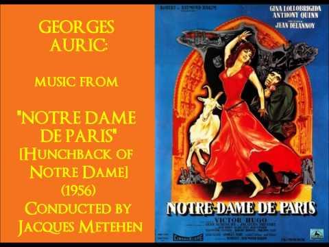 Georges Auric: music from Notre Dame de Paris 1956