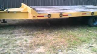 Toyota pulls dump truck trailer