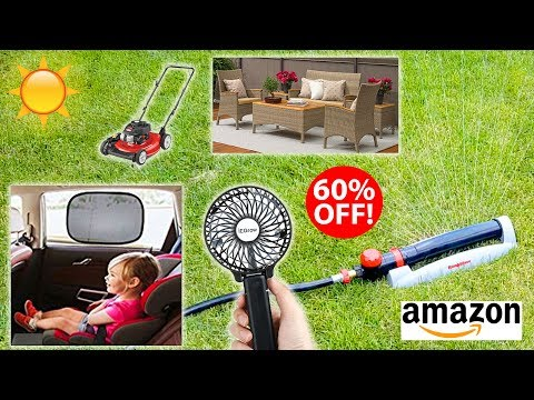 Best Amazon OUTDOOR SUMMER DEALS for 2017 - Don't miss these!