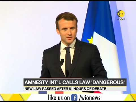 France passes new immigration law for asylum seekers; Amnesty International calls law 'dangerous'