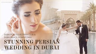Khaled & Hoda - Wedding at The Palace Downtown Dubai and Dubai Polo Equestrian Club