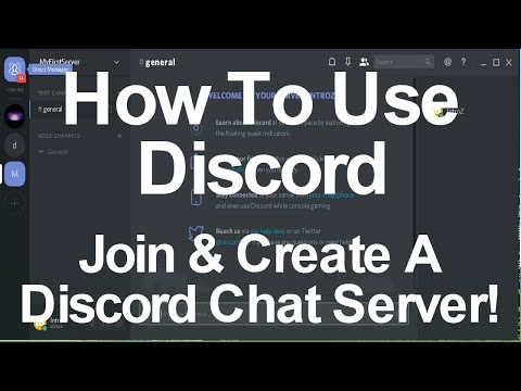 How To Use Discord (Create And Join Chat Servers)