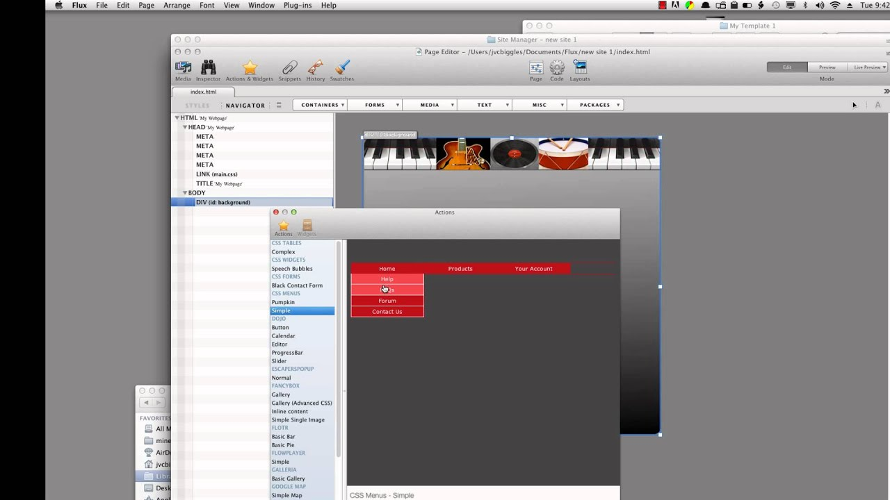 Creating Your Own Templates in Flux 3 - YouTube