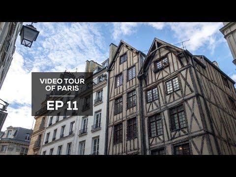 Ep 11 - FB Live Replay - Video Tour of Paris: The Marais (Seine to Jewish Quarter)